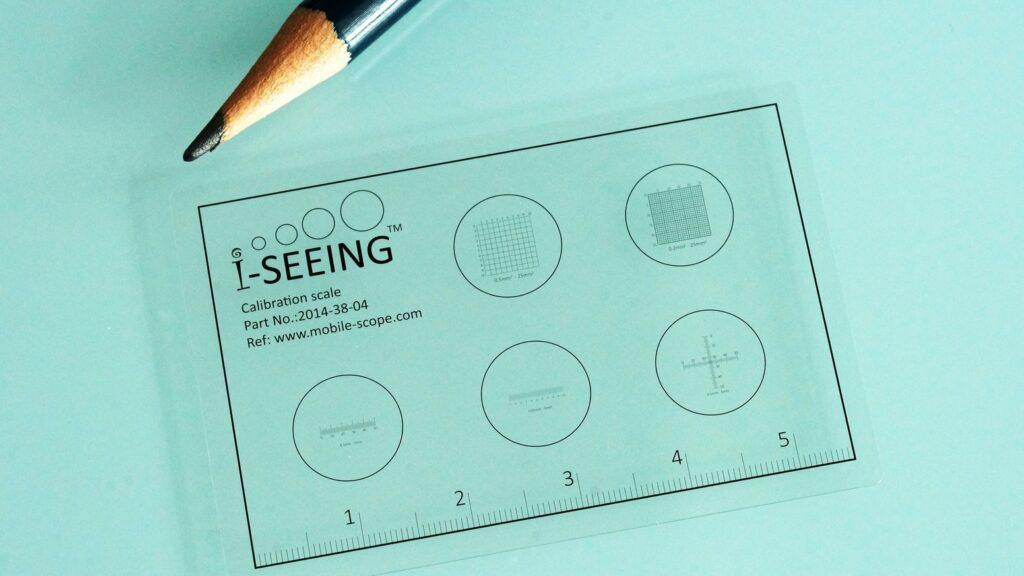 顕微鏡用マイクロ定規